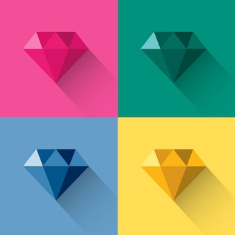 Poligonal diamonds