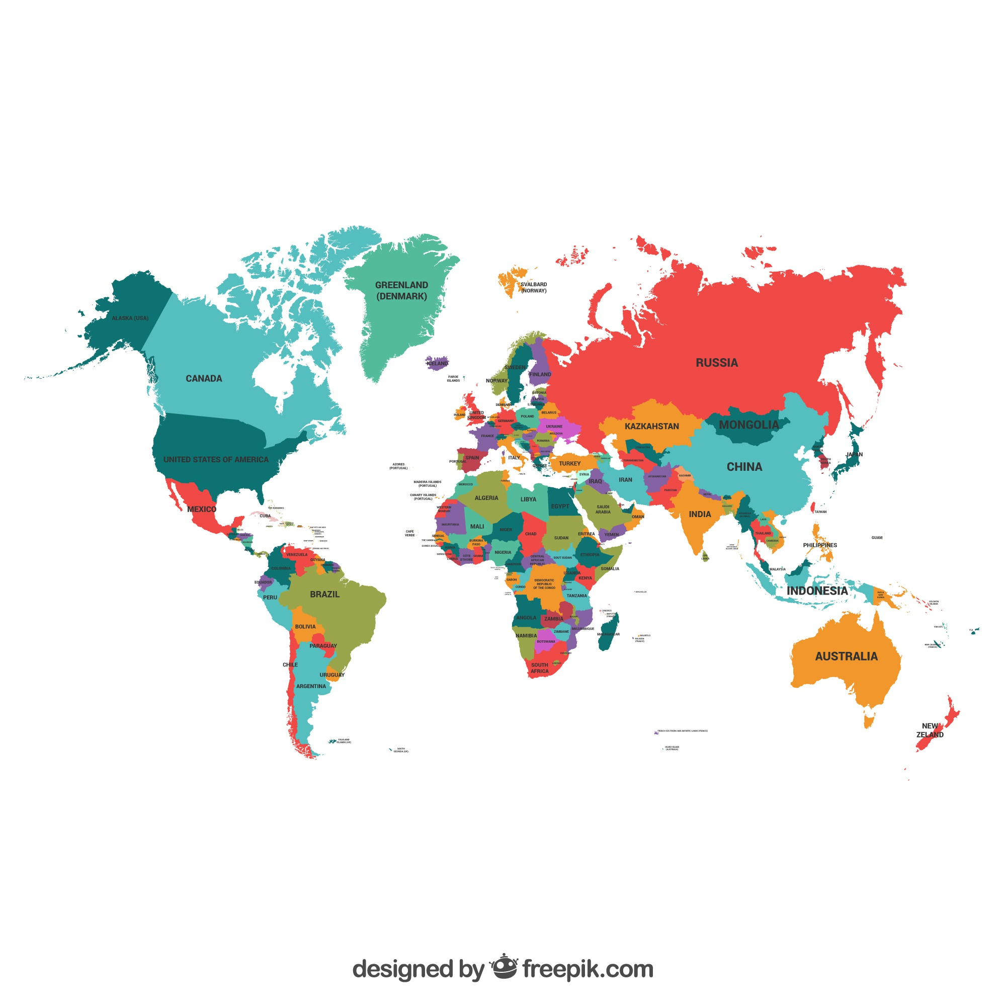 Map vectors 15600 free files in eps format political map of the world gumiabroncs Choice Image