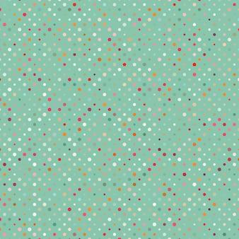Красочный абстрактный узор в горошек.