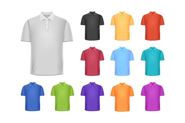 Polo shirt collection