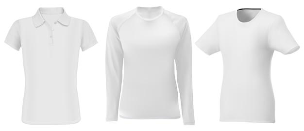 Рубашка поло . мужская одежда с длинным рукавом пустая