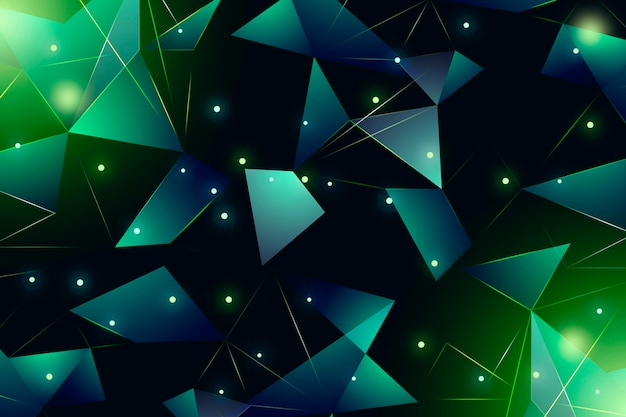 Poly neon background