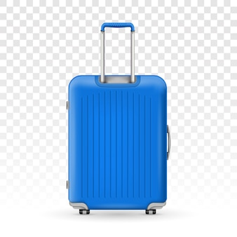 Polycarbonate travel plastic suitcase
