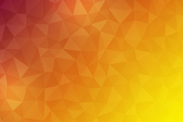 コンポーネントとして三角形を使用したポリゴンの抽象的な背景。