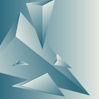 Polygon, abstract colorful, white, midnight blue gradient wallpaper background