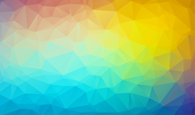 Polygon background with a triangular