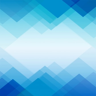 Polygon blue geometric background