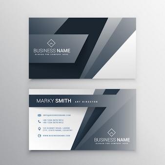 Polygon card with gray tones