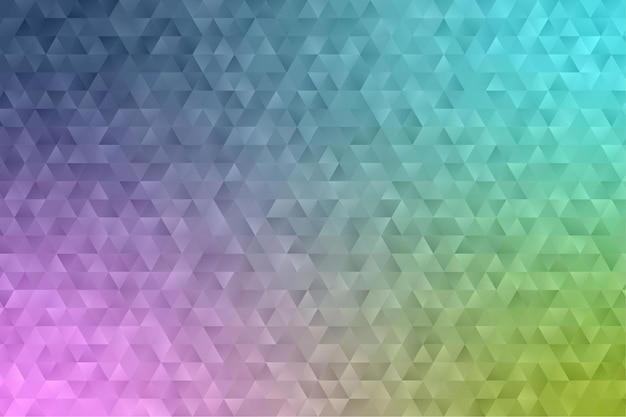 Polygon geometric background
