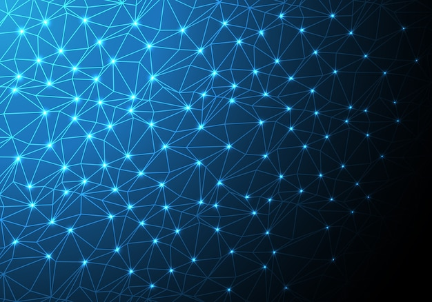 Сетевые данные многоугольника