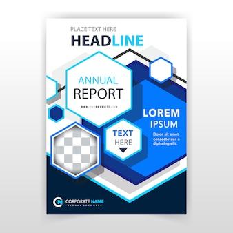 Polygon vertical leaflet design