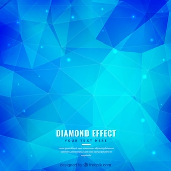 Polygon синий фон