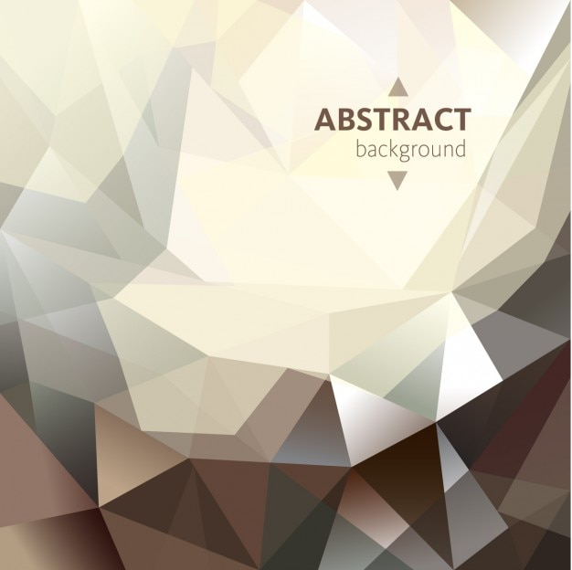 Polygonal abstrac background