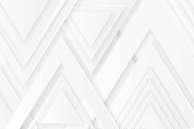 Polygonal arrow top white texture background