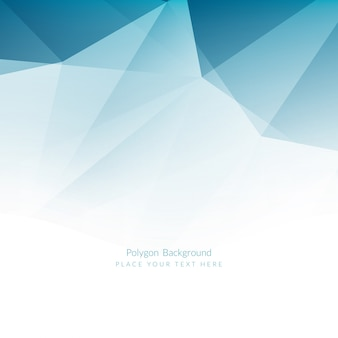 Polygonal background, dark blue