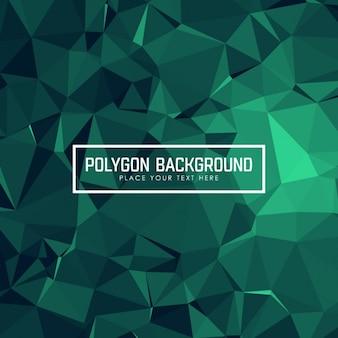 Disegno di sfondo poligonale
