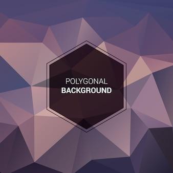 Polygonal background, geometric pattern