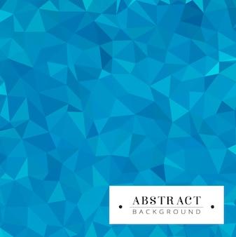 푸른 색조의 다각형 배경