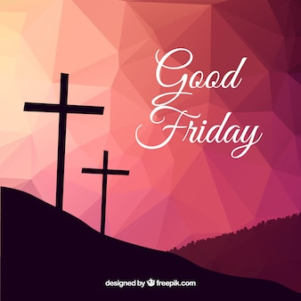 Polygonal background of Good Friday