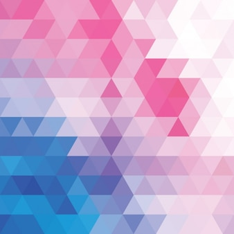 Polygonal background in soft colours