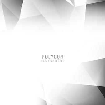Ярко-серый полигональные дизайн