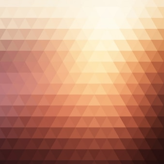 Polygonal background with soft colors