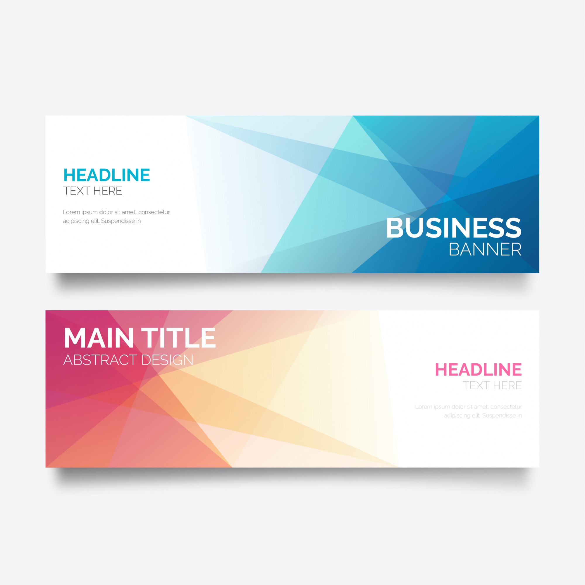 banners vectors 133 200 free files in ai eps format