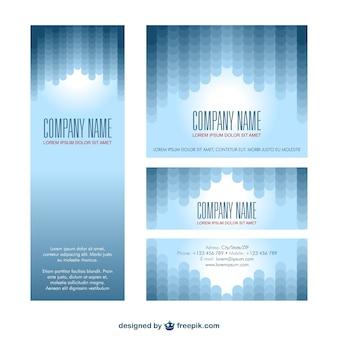 Polygonal corporate identity pack