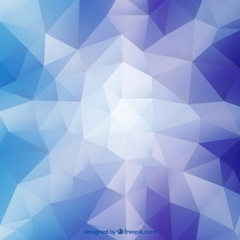 Polygonal фон алмаз