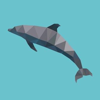 Polygonal dolphin