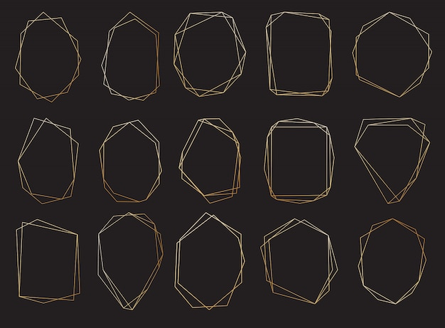 Polygonal frames set