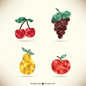 다각형 과일