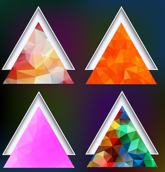 Polygonal geometric shapes