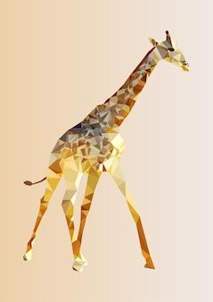 Polygonal giraffe