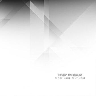 Серый цвет элегантный дизайн фона многоугольник