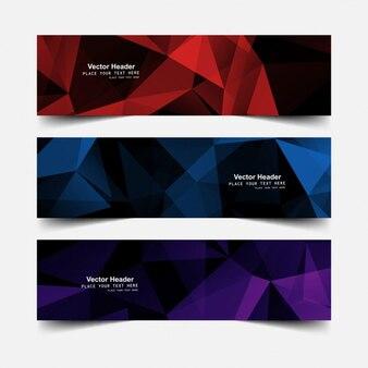 Polygonal headers