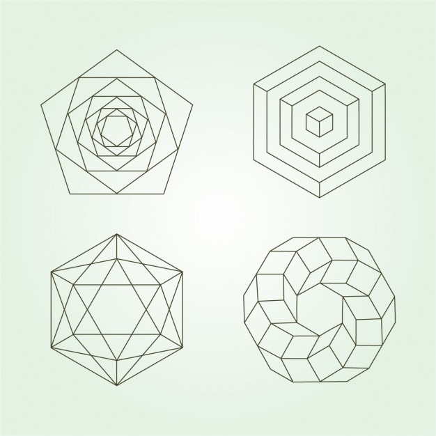 Polygonal Icons Collection