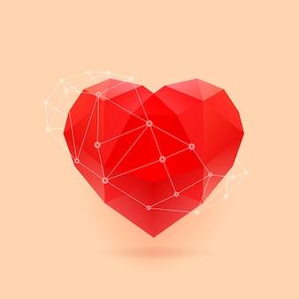 심장의 다각형 그림