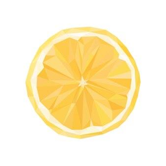 Полигональные оранжевый, векторные абстрактные геометрические иллюстрации на белом фоне