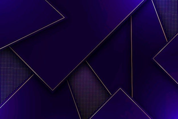 Polygonal shapes abstract background