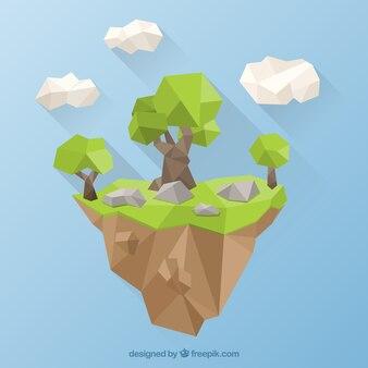 다각형 나무