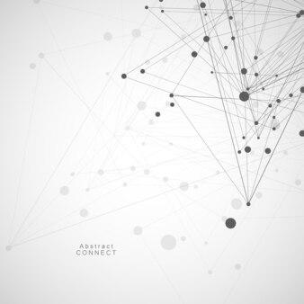 Полигональные с соединительными линиями и точками