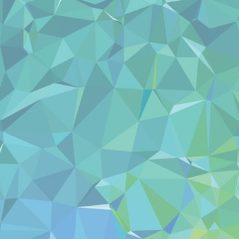 Polygons green background