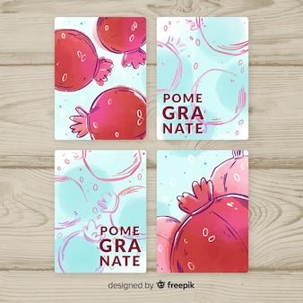 석류 카드 컬렉션