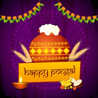 Pongal background.