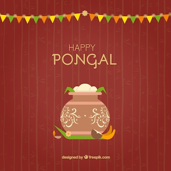 Pongal米背景
