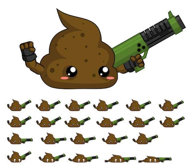 Poop game sprite