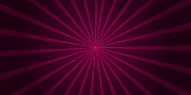 ポップアートとコミックの紫ピンクのグラデーションの背景