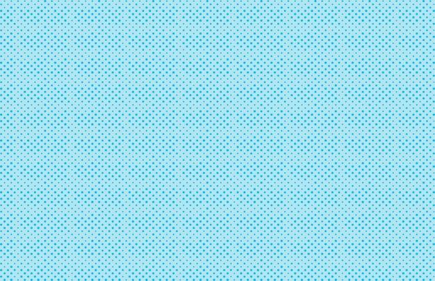 Поп-арт фон синего цвета в полутоновом мультфильме