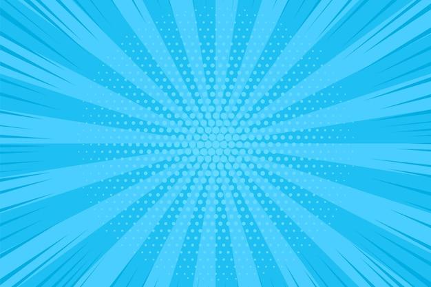 ポップアートの背景。漫画のハーフトーンの点線のパターン。
